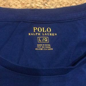 Polo by Ralph Lauren Shirts - Men's royal blue polo T-shirt size large
